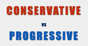What's the difference between a Conservative and a Progressive